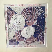 She sells seashells, limited edition, 10/14