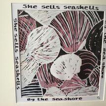She sells seashells, limited edition, 5/14