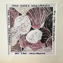 She sells seashells, limited edition 8/14