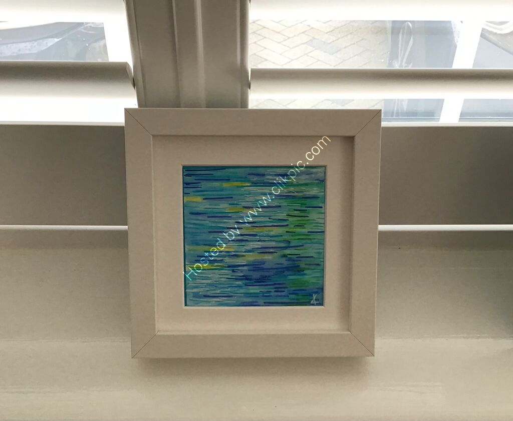 ripples, reflections, water, colour