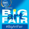 Art fair, Hitchin, July, Artist,