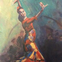 dancer, flamenco, club, movement, passion