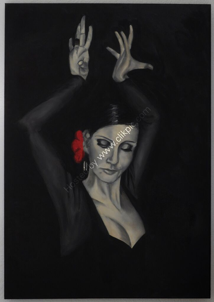 "Art Print ""Flamenco 6"""