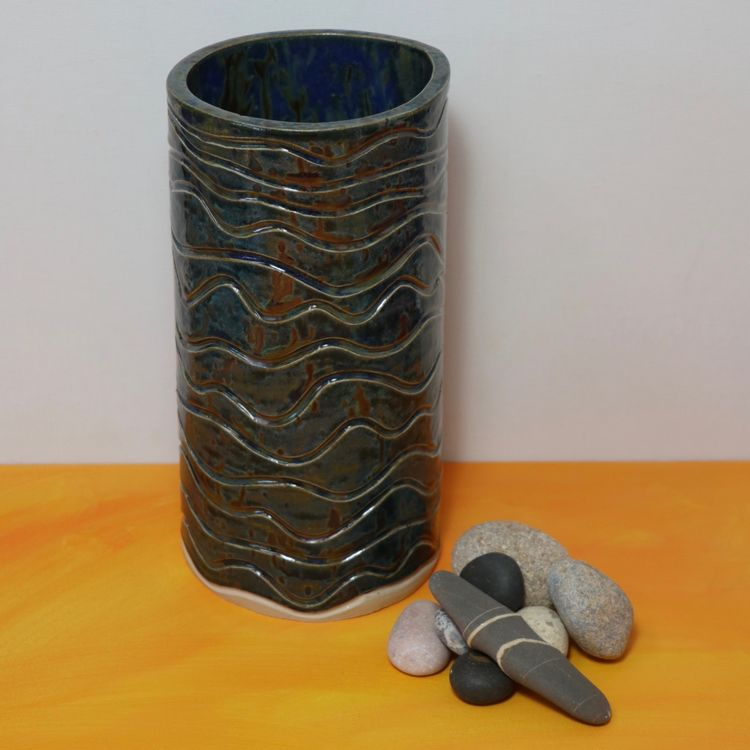 'NIGHT SWIMMING' CERAMIC VASE-CLICK ON THE IMAGE FOR MORE INFO