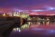 TWILIGHT CONWY CASTLE
