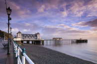 EARLY MORNING AT PENARTH