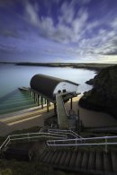 ABOVE PADSTOW LIFEBOAT STATION  (Mothers Ivey's Bay)