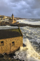 Above the old RNLI station (Porthleven)