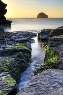 ABOVE THE STREAM (Trebarwith Strand)