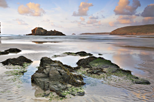 ACROSS THE BEACH (Perranporth)