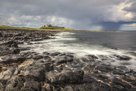 APPROACHING STORM AT DUNSTANBURGH