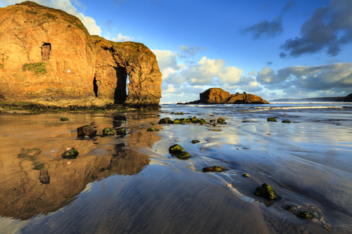 ARCH REFLECTIONS (Perranporth)