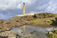ARDNAMURCHAN LIGHTHOUSE REFLECTED