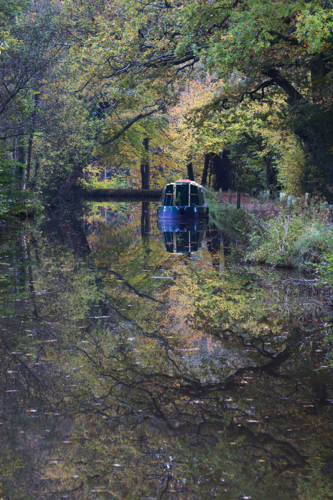 AUTUMN AT THE MONMOUTHSHIRE AND BRECON CANAL