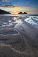 BEACH PATTERN (Holywell Bay)