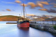 BOAT IN INVERARAY