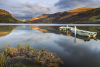 BOATS AND REFLECTIONS (Llyn Nantlle)