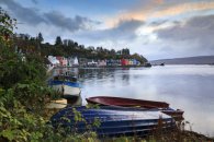 BOATS AT SUNRISE (Tobermory)