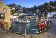 BOATS IN THE HARBOUR (Polperro)