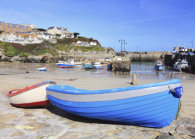 BOATS ON THE SLIPWAY (Newquay Harbour)