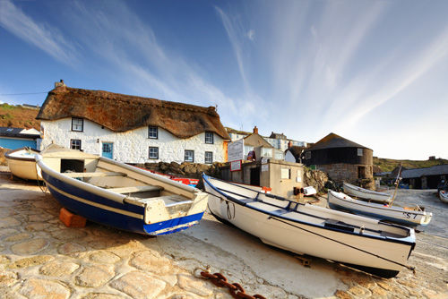 BOATS ON THE SLIPWAY (Sennen)