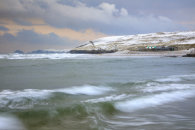 BREAKING WAVE IN WINTER (Perranporth)