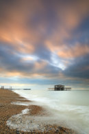 BRIGHTON PIER AT SUNRISE