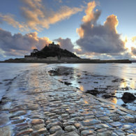 COASTER Causeway at Sunset (St Michael's Mount)