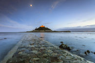 CAUSEWAY AT TWILIGHT (St Michael's Mount)