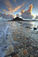 CAUSEWAY TO ST MICHAEL'S MOUNT