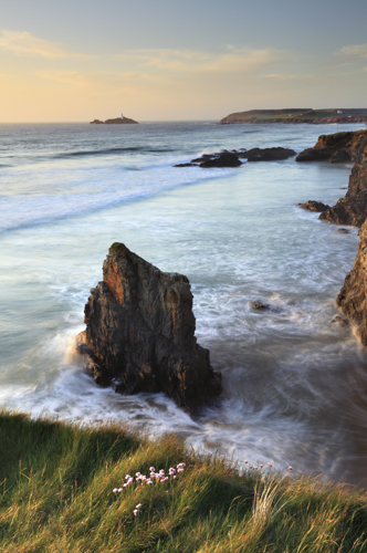 CLIFF VIEW (Godrevy)
