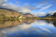 CLOUD REFLECTIONS (Kilchurn Castle)