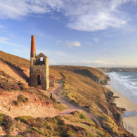 COASTER  Evening Light at Wheal Coates