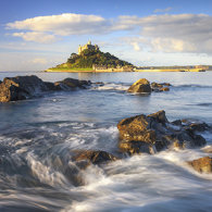 COASTER - Morning Light at St Michaels Mount