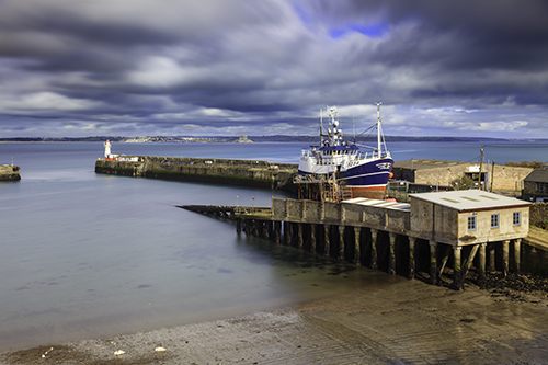 DRY DOCK AT NEWLYN