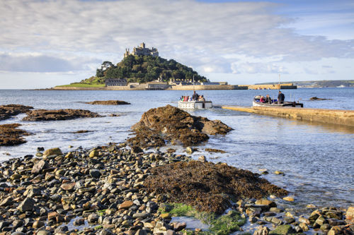 FERRY BOAT'S AT ST MICHAEL'S MOUNT