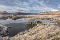 FROSTY MORNING AT LOCHAN NA H-ACHLAISE