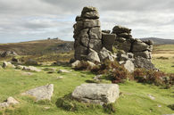 HOUND TOR VIEW (Dartmoor)
