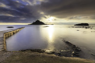 INTO THE LIGHT (St Michael's Mount)