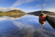 INVERARAY HARBOUR REFLECTIONS