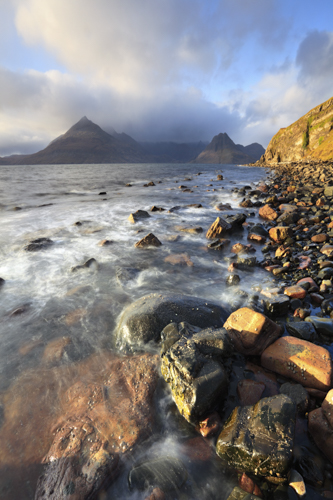 LATE LIGHT AT ELGOL
