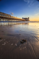 LATE LIGHT ON WESTON PIER