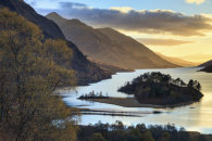 LATE LIGHT ON THE BANKS OF LOCH SHIEL