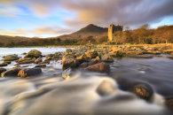 LATE LIGHT ON MOY CASTLE (Isle of Mull)