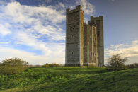 LATE LIGHT ON ORFORD CASTLE