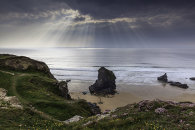 LIGHT SHAFT'S (Bedruthan Steps)