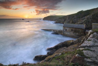 LIZARD POINT AT SUNSET