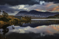 LOCH STACK AT SUNRISE