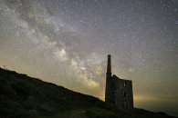 MILKY WAY OVER WHEAL PROSPER (Rinsey)