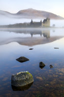 MISTY MORNING AT LOCH AWE